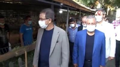 Eyüpsultan'da 55 şehit ailesi için 55 kurban kesildi