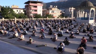 seccade - Kahramanmaraş'ta Kurban Bayramı namazı