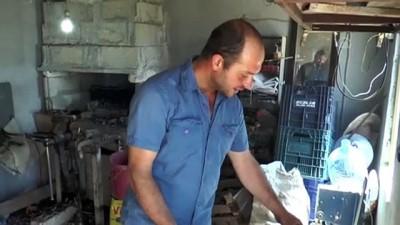 ogretmenlik - Kaybolmaya yüz tutmuş mesleğini köyüne kurduğu atölyede yaşatıyor - SİVAS