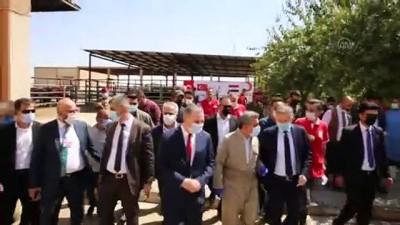 Türk Kızılaydan Irak'taki ihtiyaç sahipleri için kurban yardımı