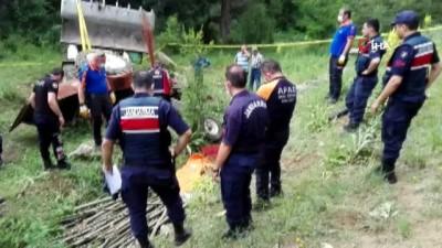trafik kazasi -  5 gün önce aldığı traktörle kazaya yaparak, hayatını kaybetti