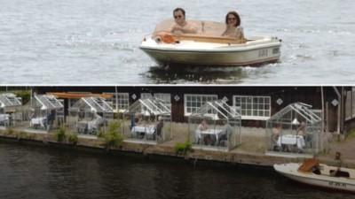 Amsterdam restoranlarında yeni koronavirüs konsepti: Serada yemek