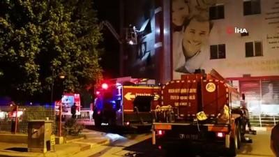 hastane -  Hastaneden çıkan yangın korkuttu
