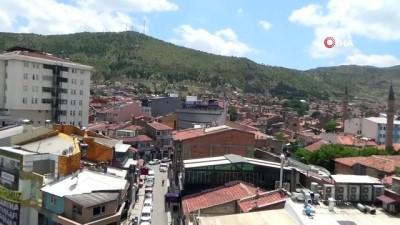 toplanti -  Korona virüsün 'pik' yaptığı Afyonkarahisar'da sokaklardaki kalabalık azaldı