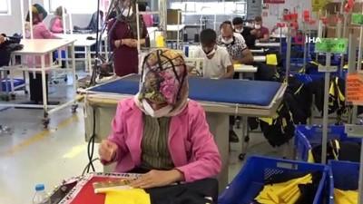 tekstil fabrikasi -  Muş'tan 25 ülkeye spor giyim ihracatı