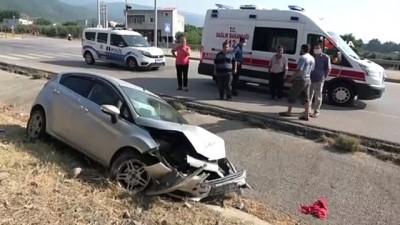 hastane -  Osmaniye Güney Çevre Yolunda trafik kazası: 6 yaralı