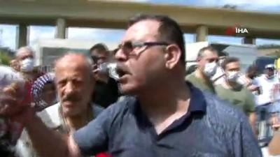saldiri -  Alibeyköy'de kasaplar ve vatandaşlar arasında gerginlik yaşandı