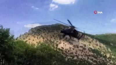 Siirt'te öldürülen PKK'lı 2 teröriste ait mühimmat ele geçirildi