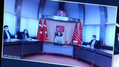 Siyasi partiler videokonferans aracılığıyla bayramlaştı - AK Parti-İYİ Parti - ANKARA