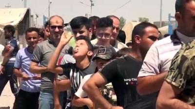 saldiri - Türk Kızılay 550 göçmen aileye kurban eti dağıttı - KERKÜK