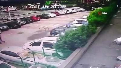 Acemi hırsız güvenlik kamerasında