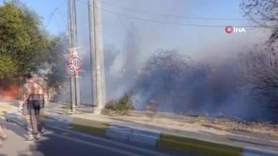 uttu -  Balıkesir'de korkutan yangın