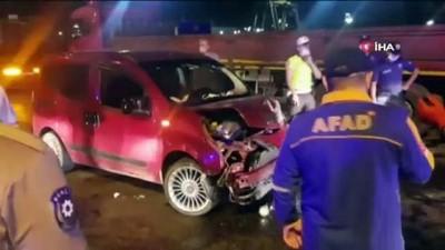 direksiyon -  Karabük'te iki ayrı kaza : 1 ölü, 4 yaralı