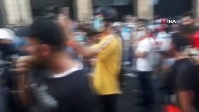 hukumet -  - Lübnan'da hükümetin istifası sonrası protestolar yeniden başladı