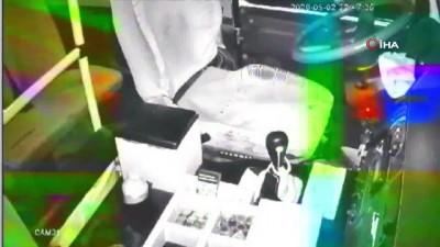 hirsiz -  Minibüs hırsızı kameralara böyle yakalandı