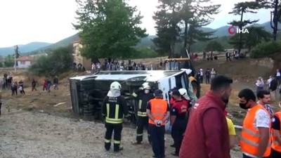 direksiyon -  Muğla'daki minibüs kazasında ölü sayısı ikiye çıktı