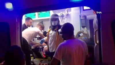 tahkikat -  Otomobil ile motosiklet çarpıştı: 5 yaralı