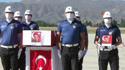 sehit -  Şehit polisler memleketlerine uğurlandı