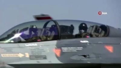 "- Türk F-16'ları Azerbaycan'a ait savaş uçakları ile Azerbaycan semalarında - ""TurAz Kartalı 2020"" tatbikatı"