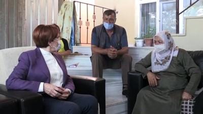 Akşener eski eşi tarafından öldürülen Emine Bulut'un ailesini ziyaret etti - KIRIKKALE