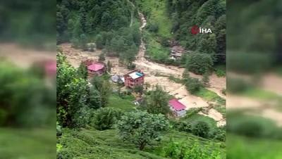 hayvan -  Ardeşen'in Yukarıdurak köyü selden büyük zarar gördü