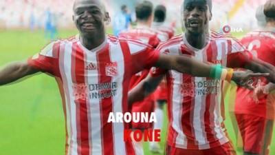 Arouna Kone 1 yıl daha Sivasspor'da