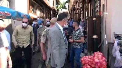 Bitlis'te korona virüs tedbirleri denetimi