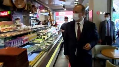 Bursa'da korona virüs denetimi