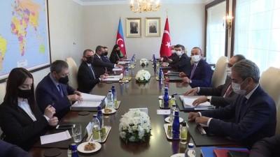 sehit - Çavuşoğlu-Bayramov görüşmesi - ANKARA