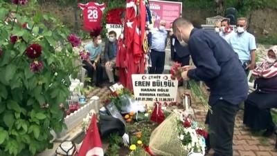 teror orgutu -  Eren Bülbül ölümünün 3. yılında mezarı başında anılıyor