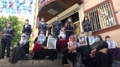 teror orgutu -  HDP önündeki ailelerin evlat nöbeti 344'üncü gününde