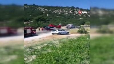 Korkuteli-Tefenni yolunda kaza: 2'si ağır 9 Yaralı