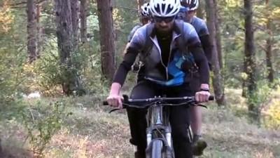 hayvan - Bisikletleriyle Ilgaz Dağı'nın zirvesine ulaştılar - KASTAMONU