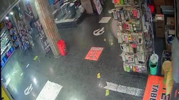 hirsiz - Cep telefonu hırsızlığı güvenlik kamerasında - ELAZIĞ