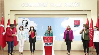 CHP Kadın Kolları Genel Başkanı Nazlıaka'dan İstanbul Sözleşmesi açıklaması - ANKARA