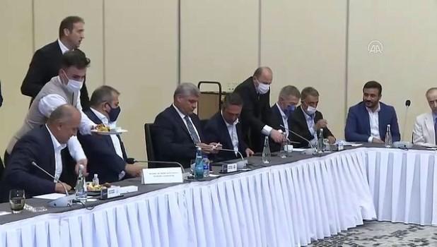 irak - Kulüpler Birliği Vakfı toplantısı yapıldı - İSTANBUL