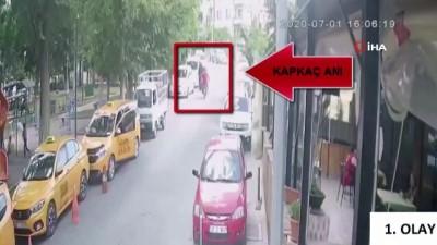 hirsiz -  Motosikletli kapkaççılar kamerada