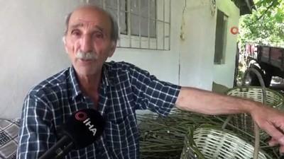 irak -  Söğüt dalından sepet örme işine 50 yıl sonra geri döndü