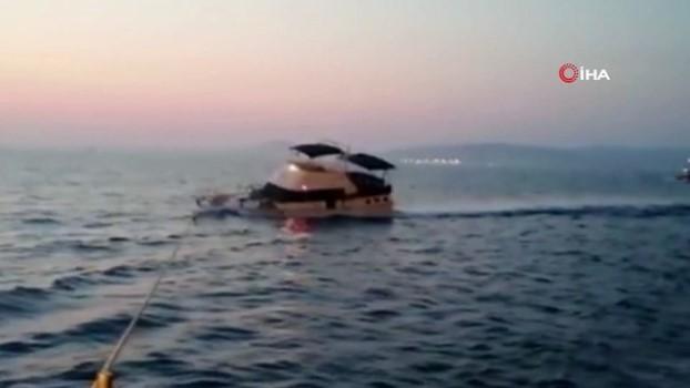 tahkikat -  Yunanlıların ateş açtığı teknenin batışının görüntüleri ortaya çıktı