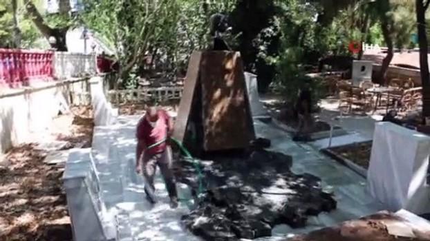 gine -  Kartal'daki Atatürk ve Türk Devletleri Anıtı için restorasyon çalışmaları başladı