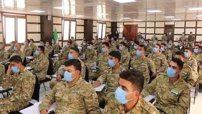 Suriye Milli Ordusu askerlerine uluslararası insan hakları ve hukuk eğitimi - AZEZ