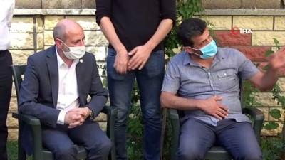 CHP Heyeti Delen ailesini ziyaret etti