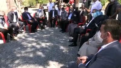 sehit - AK Parti Genel Başkan Yardımcısı Ünal'dan şehit ailesine ziyaret - KAHRAMANMARAŞ