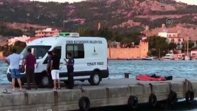 tahkikat - Foça'da teknenin batması sonucu 4 kişi yaşamını yitirdi (4) - İZMİR