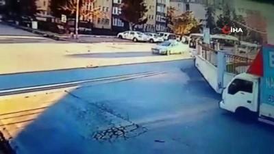 İstanbul'da yaşanan feci kazalar kamerada