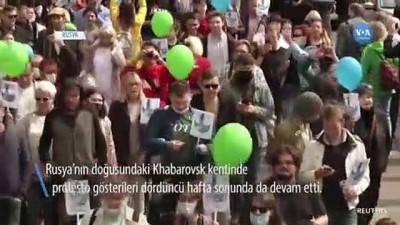 protesto - Rusya'nın Doğusunda Başlayan Gösteriler Dördüncü Haftasında