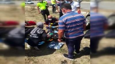 Giresun'da bulunan Bakan Murat Kurum'un korumaları Çorum'da kaza yaptı: 4 yaralı