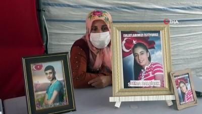 """Diyarbakır'da HDP il binası önündeki acılı ailelerin hikayeleri yürek burkuyor - 358 gündür kızı Sema için eylemde olan anne Hanım Dalçiçek: - """"Kızım kaymakam olacaktı, PKK yandaşları dağa kaçırdı"""""""