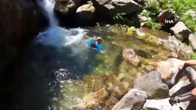 sili -  Bursalılar 40 derecede yanarken, onlar 7-8 derecede yüzdü