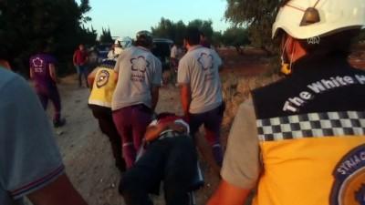 saldiri - İdlib'e hava saldırıları: 3 ölü - İDLİB